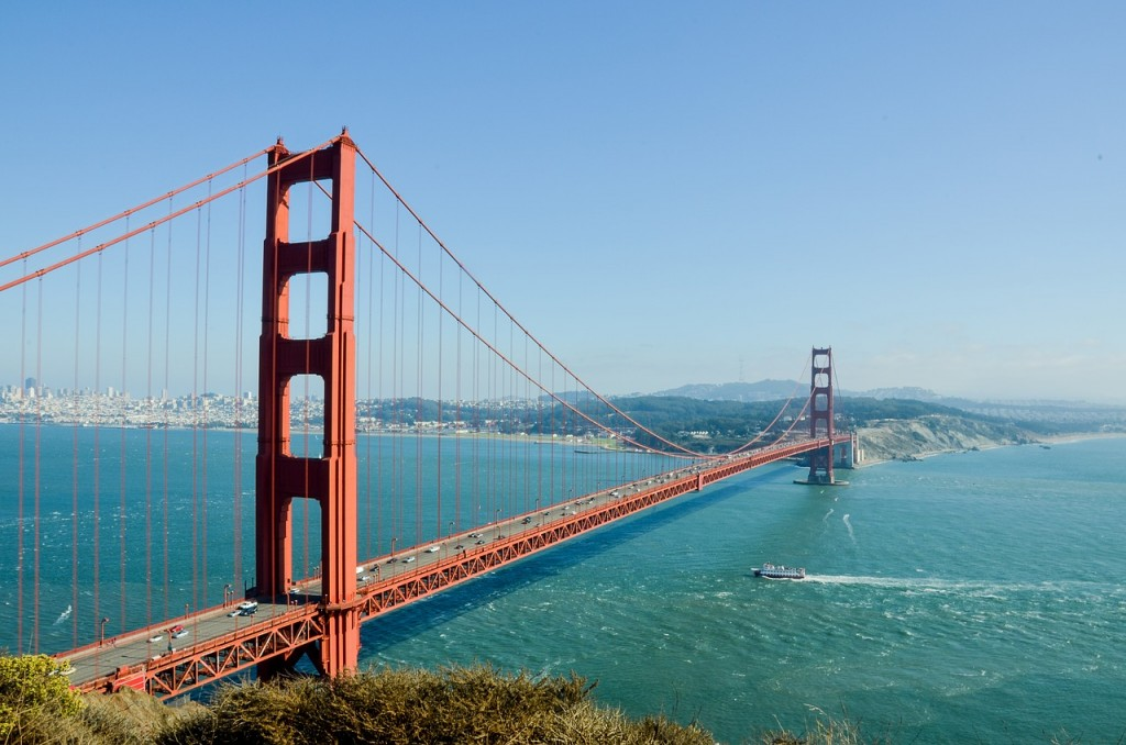 There's nothing quite like riding over the Golden Gate Bridge on a clear, sunny day.